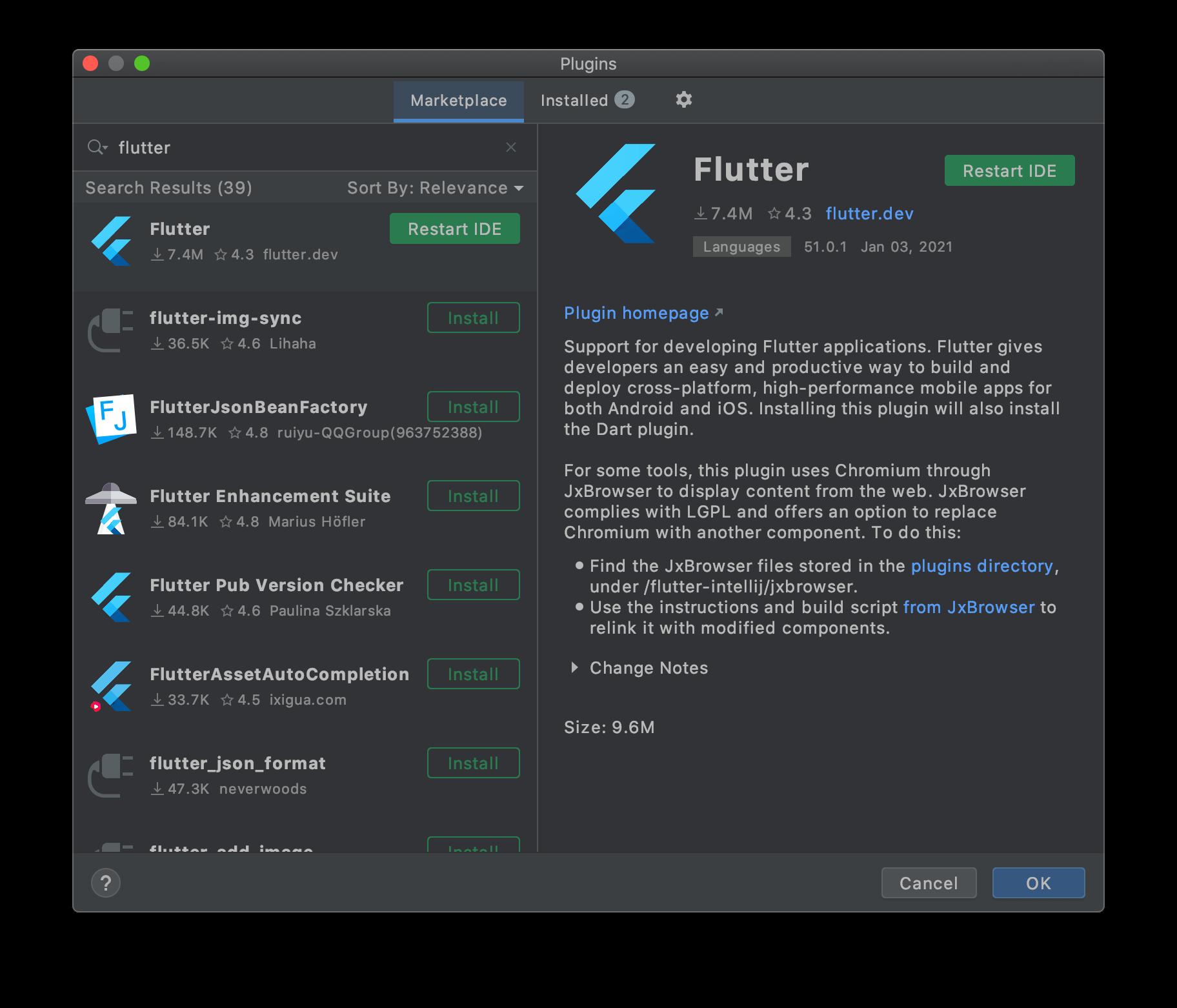 flutter plugin